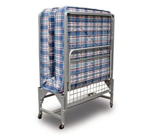 Upright Folding Bed